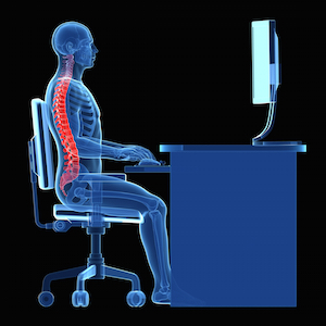 Ergonomics - correct seating position